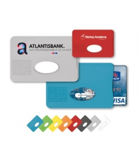 Protege carte de credit avec blindage anti rfid