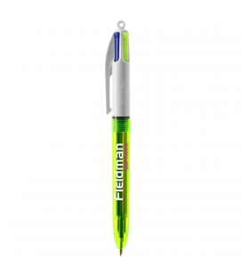Stylo BIC® 4 Couleurs Fluo
