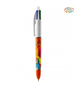 Stylo BIC® 4 Couleurs Fine