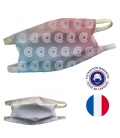 Masque tissu 2 couches homologué personnalisable - Fabrication FRANCE