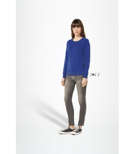 Sweat-shirt femme french terry SOL'S - 240g/m² - STUDIO WOMEN