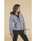 Softshell femme à capuche SOL'S - 340g/m² - REPLAY WOMEN