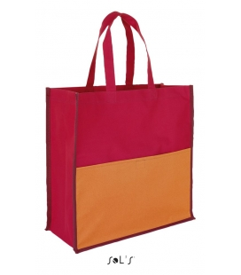 Sac shopping tricolore polyester 600d SOL'S - BURTON