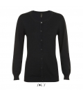 Cardigan femme col rond SOL'S - GRIFFIN