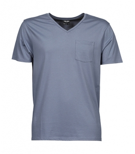 T-shirt col en V Luxury Pocket 160 g/m - TEE-JAYS