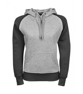 Sweat-shirt à capuche Two-Tone femme 310-320 g/m - TEE-JAYS