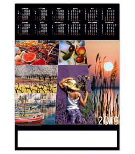 Poster COULEURS PROVENCE 2019