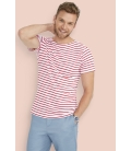 Tee-shirt homme col rond rayé SOL'S MILES MEN