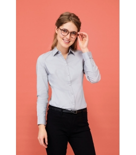 Chemise femme stretch manches longues SOL'S BLAKE WOMEN