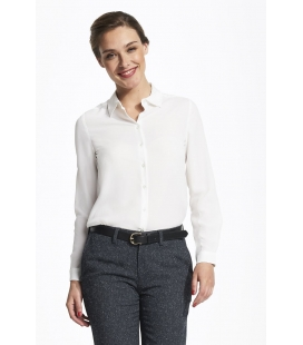 Chemise femme crêpe manches longues SOL'S BETTY