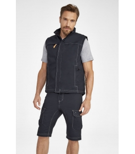 Bodywarmer unicolore workwear homme SOL'S WORKER PRO