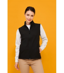 Softshell femme sans manches SOL'S RACE BW WOMEN
