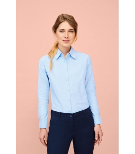 Chemise femme oxford manches longues SOL'S EMBASSY
