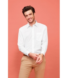 Chemise homme popeline manches longues SOL'S BALTIMORE