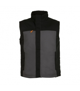 Bodywarmer bicolore workwear homme SOL'S MISSION PRO