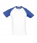 Tee-shirt homme bicolore manches raglan SOL'S FUNKY