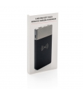 Powerbank 5000 mAh et induction 5W finition gomme